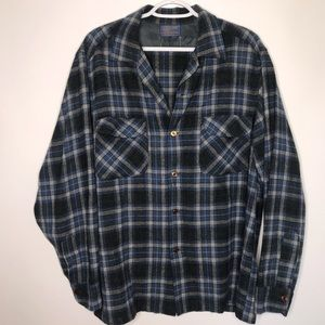 Vintage Pendleton 100% virgin wool flannel